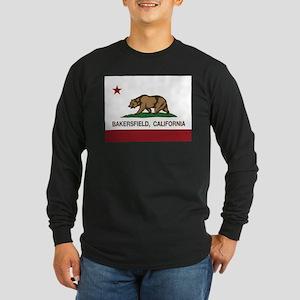 california flag bakersfield Long Sleeve T-Shirt