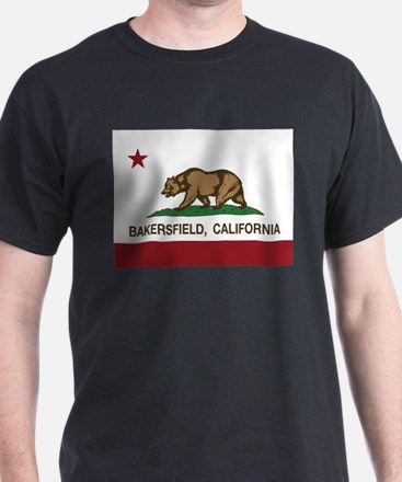 california flag bakersfield T-Shirt