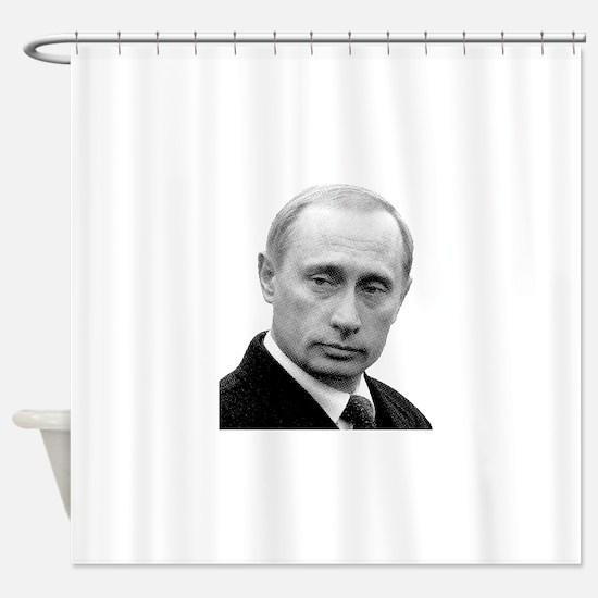 I38 Shower Curtain