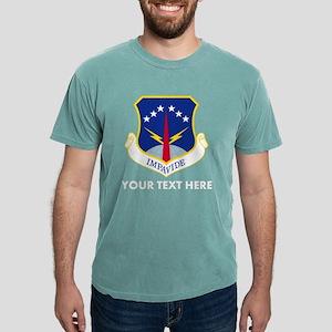Personalized USAF 90 Mis Mens Comfort Colors Shirt