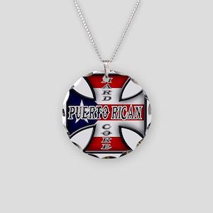 PR chopper Necklace Circle Charm