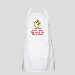 More I Like Chickens Apron