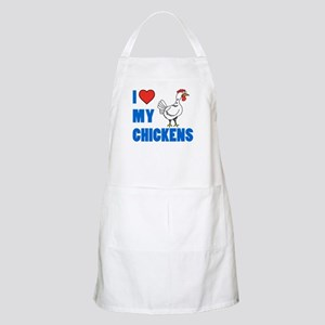 I Love My Chickens Apron