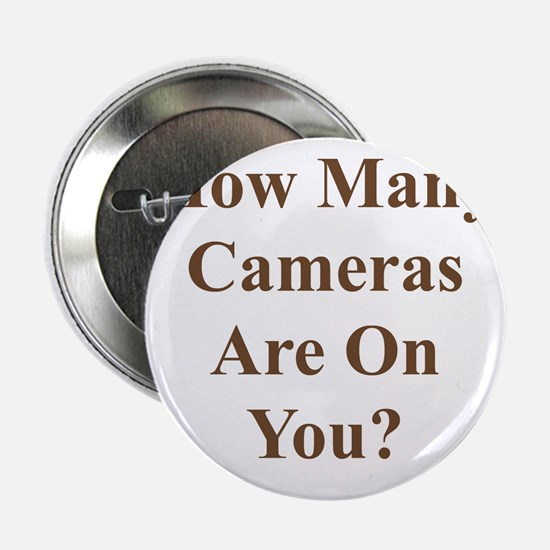 """CameraOnYouBrown 2.25"""" Button"""
