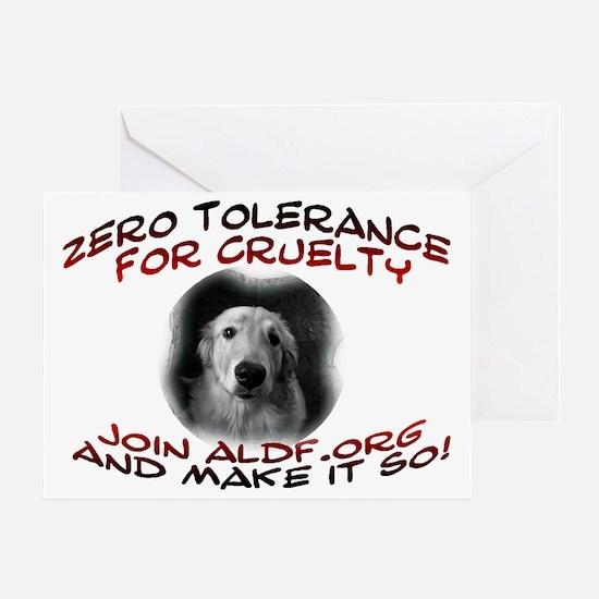 zerotolerance Greeting Card