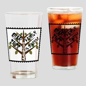 DiverseCafePress Drinking Glass