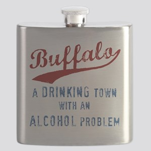 Buffalo Drinks Flask