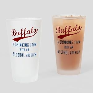 Buffalo Drinks Drinking Glass