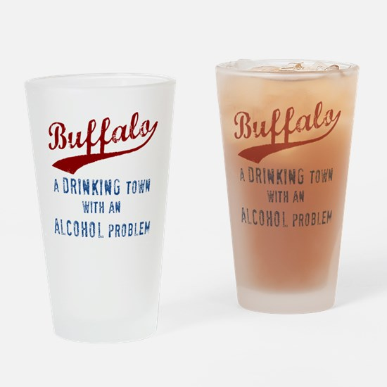 Buffalo Drinks Drinking Glass