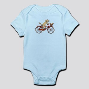 """Dog and Squirrel"" Infant Bodysuit"