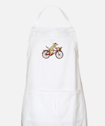 """Dog and Squirrel"" BBQ Apron"