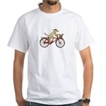 """""""Dog and Squirrel"""" White T-Shirt"""