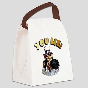 ObamaRev 6x6 Canvas Lunch Bag