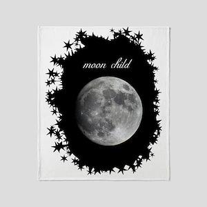 moon child Throw Blanket