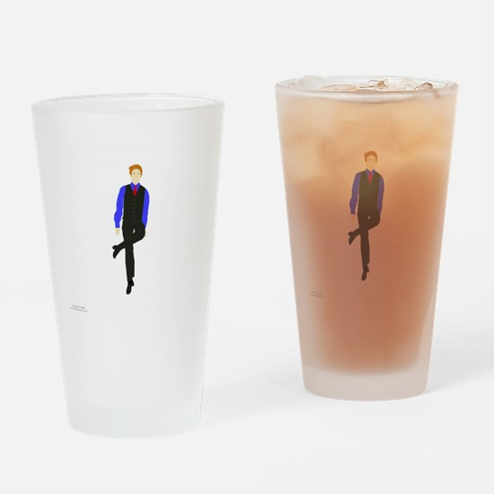 WhyDoI_10x10_DARK_apparel Drinking Glass