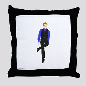 WhyDoI_10x10_DARK_apparel Throw Pillow