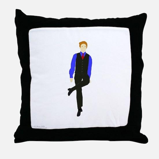 WhyDoI_10x10_DARK_apparel Throw Pillow