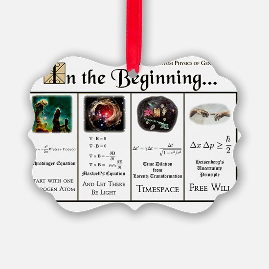 In the Beginning copy Ornament