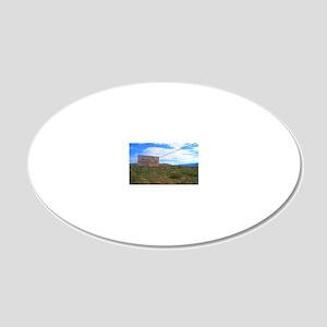 holyghostsign 20x12 Oval Wall Decal