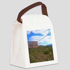 holyghostsign Canvas Lunch Bag
