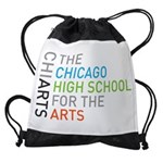 Chiarts Transparent Horizontal Drawstring Bag