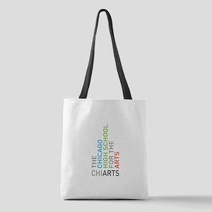 Chiarts Transparent Horizontal Polyester Tote Bag