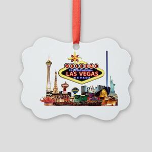 Vegas Nite Lites Picture Ornament