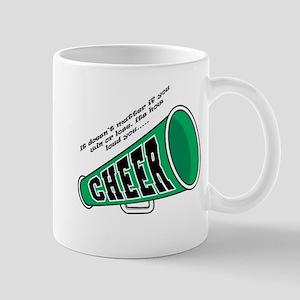 Green Cheer Horn Mug