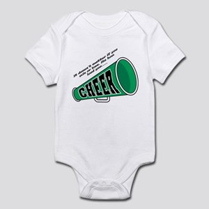 Green Cheer Horn Infant Bodysuit