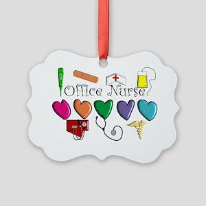 Office Nurse Picture Ornament