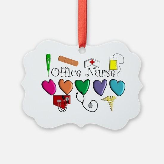 Office Nurse Ornament