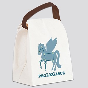 peglegasus Canvas Lunch Bag