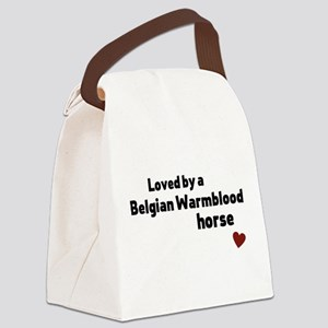 Belgian Warmblood horse Canvas Lunch Bag