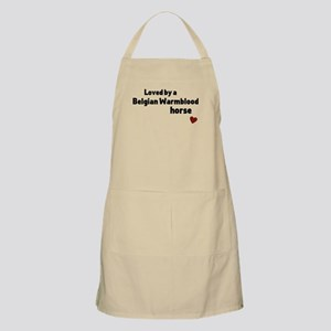 Belgian Warmblood horse Light Apron