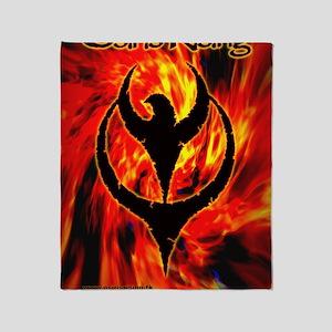 Osiris Rising - 2007 Inferno Poster Throw Blanket