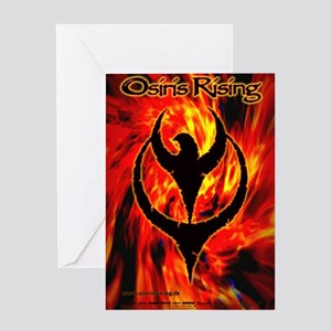 Osiris Rising - 2007 Inferno Poster Greeting Card