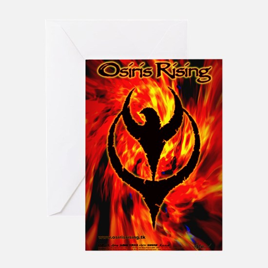 Osiris Rising - 2007 Inferno Poster Greeting Card