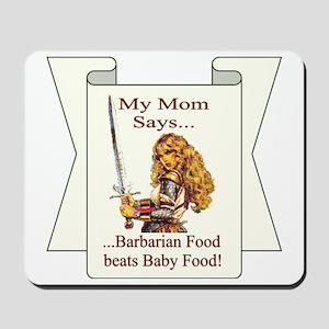 baby food Mousepad