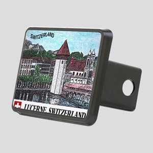 lucerne small print Rectangular Hitch Cover