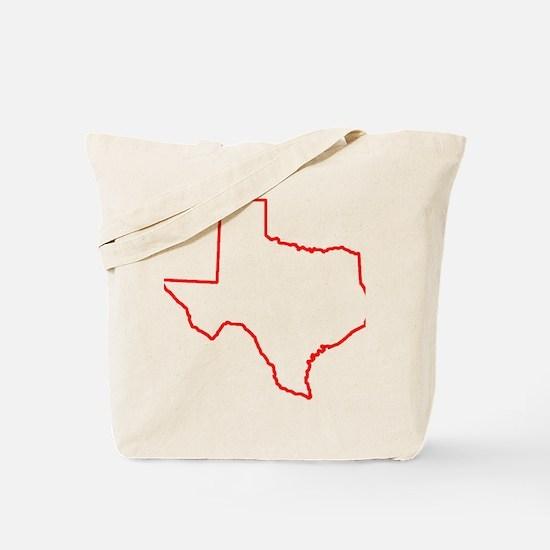 Texas_Outline Tote Bag
