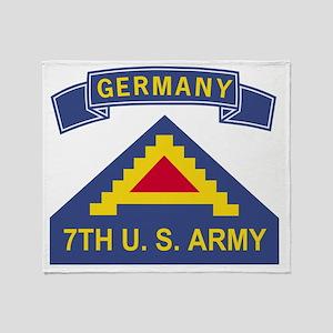 Army-7th-Army-Germany-Bonnie Throw Blanket