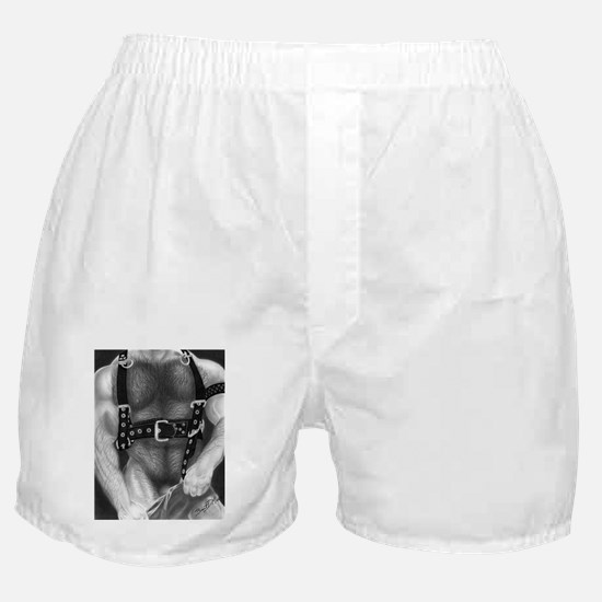 Leather Boxer Shorts
