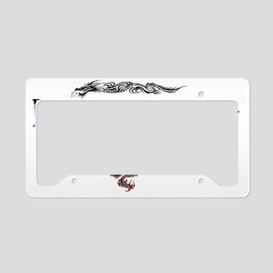 DragonTrainer-2 License Plate Holder
