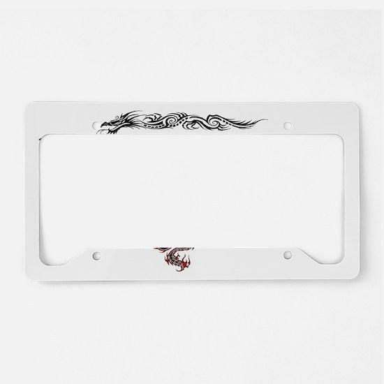 DragonTrainer-2 License Plate Holder