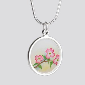 LiJia Pink Dogwood Blossoms Necklaces
