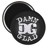 """DAMN GLAD - 2.25"""" Magnet (10 pack)"""