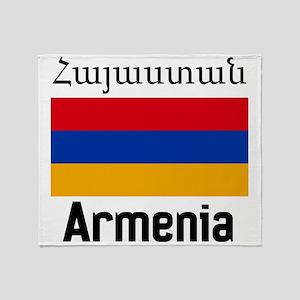Armenia Throw Blanket