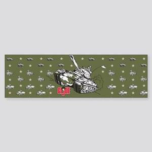 G.I. Joe Green Pattern Bumper Sticker
