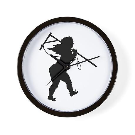 Cupid Meets Reality Wall Clock