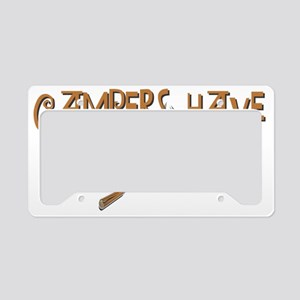 campers fun License Plate Holder